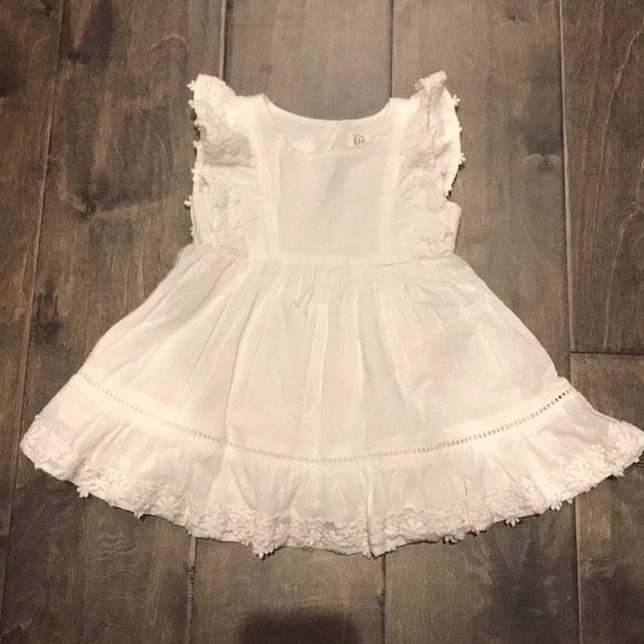 Baby Gap 12-18 month white sundress. NWT!! a2ee448d889f